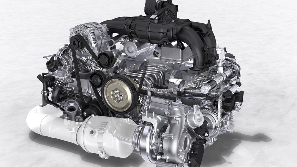 porsche boxster review specification price caradvice porsche 718 boxster four cylinder engines in detail