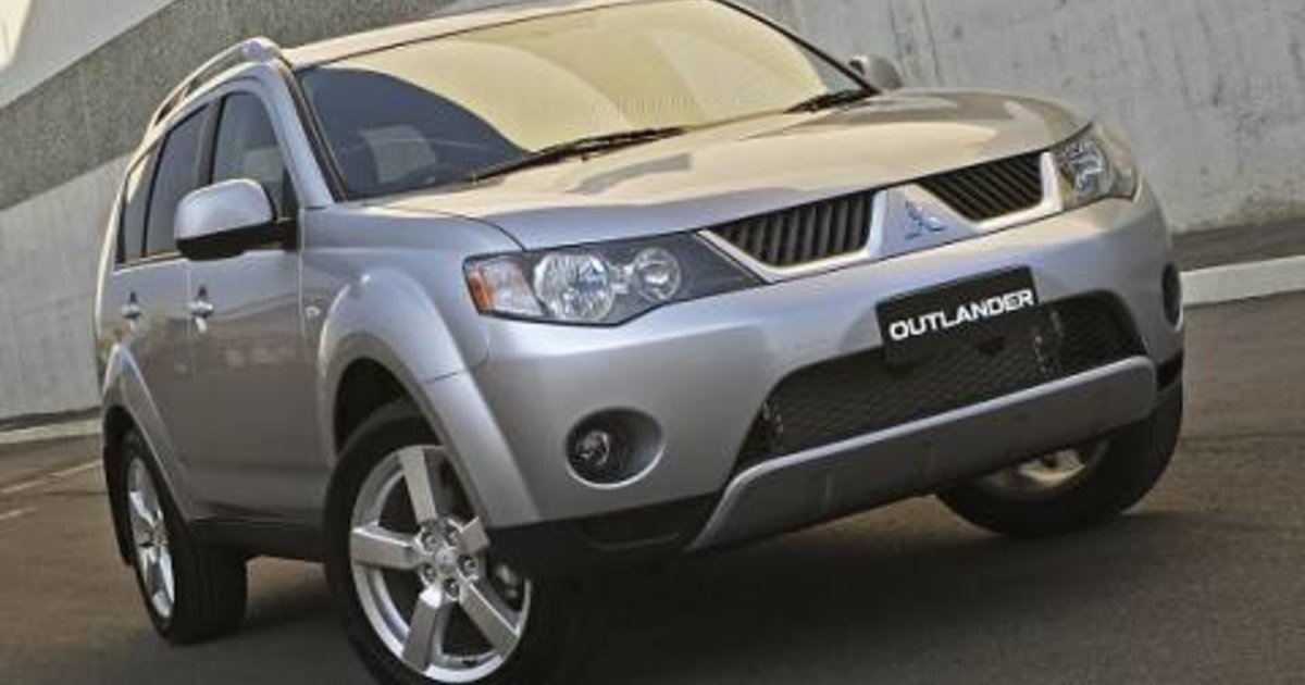 2007 mitsubishi outlander suv zg 07 my. Black Bedroom Furniture Sets. Home Design Ideas