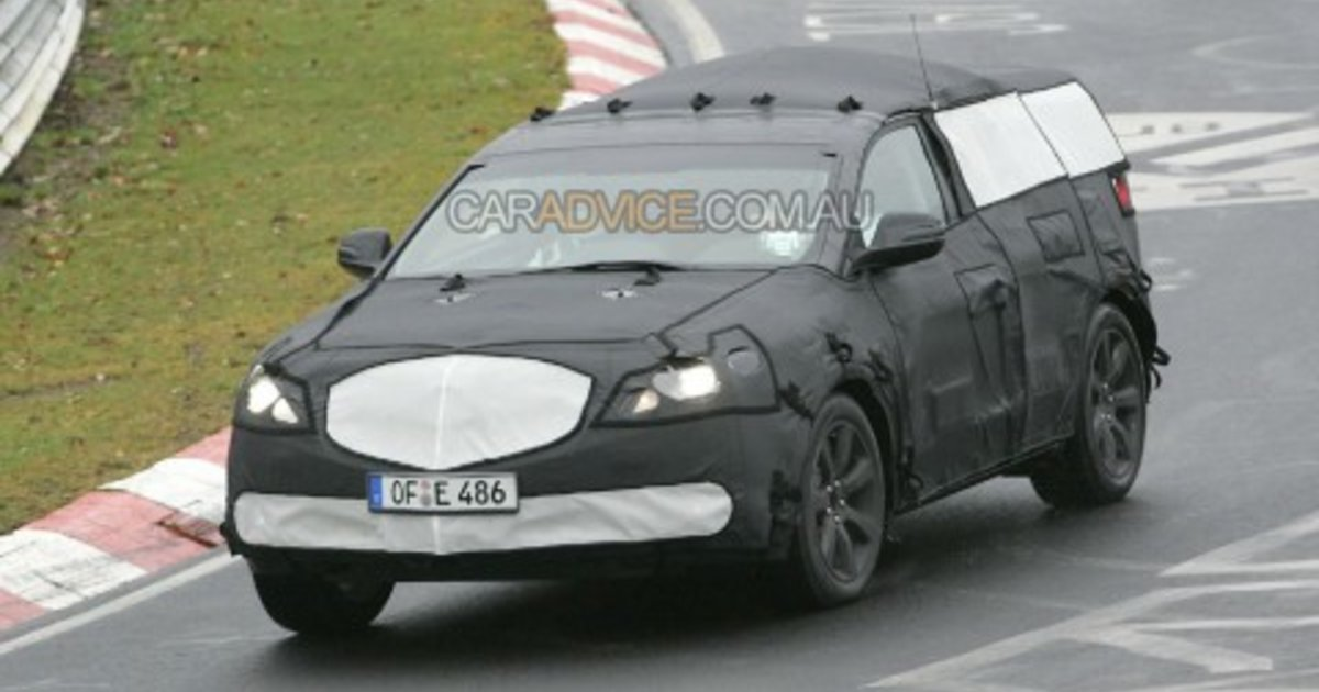 mystery acura crossover spied on nurburgring. Black Bedroom Furniture Sets. Home Design Ideas