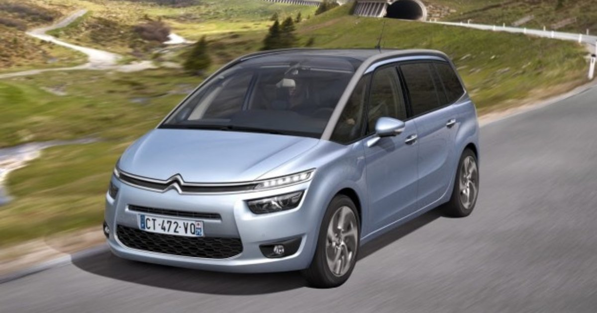citroen c4 grand picasso french seven seater revealed. Black Bedroom Furniture Sets. Home Design Ideas