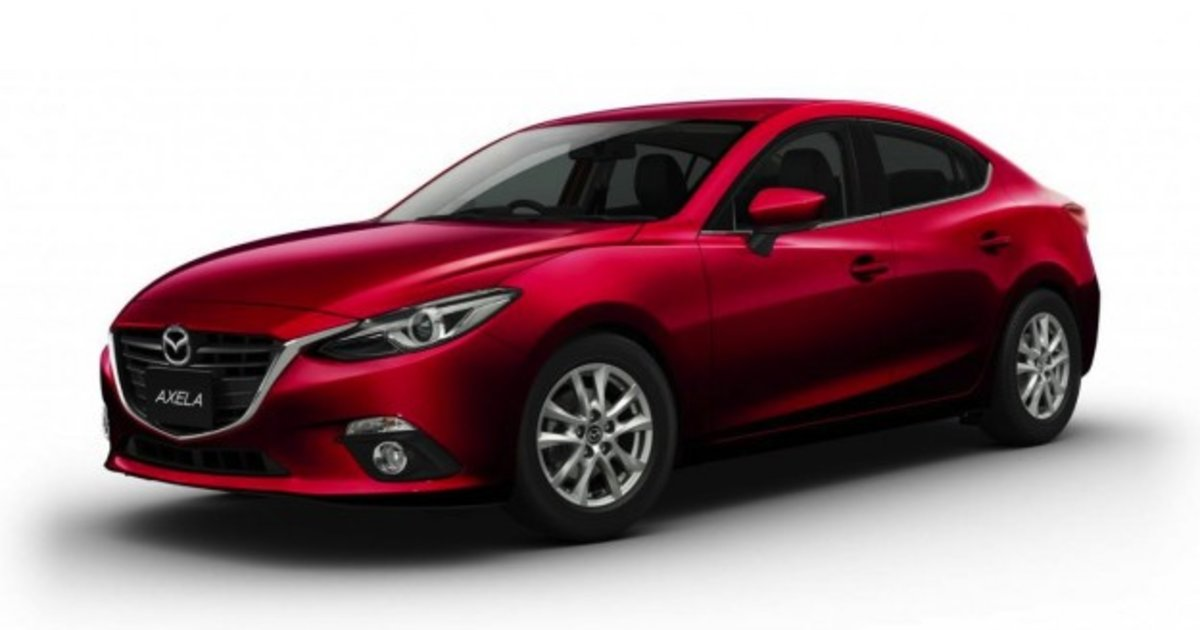 mazda 3 hybrid first images and details released