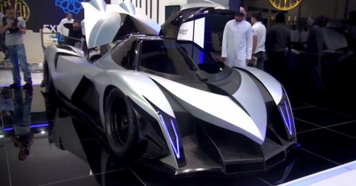 Devil 5000 Hp Car >> Devel Sixteen: Dubai supercar claims 3700kW, 560km/h top speed