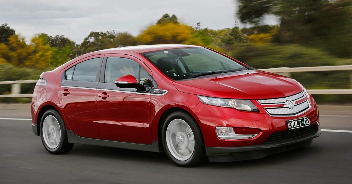 the holden volt is dead