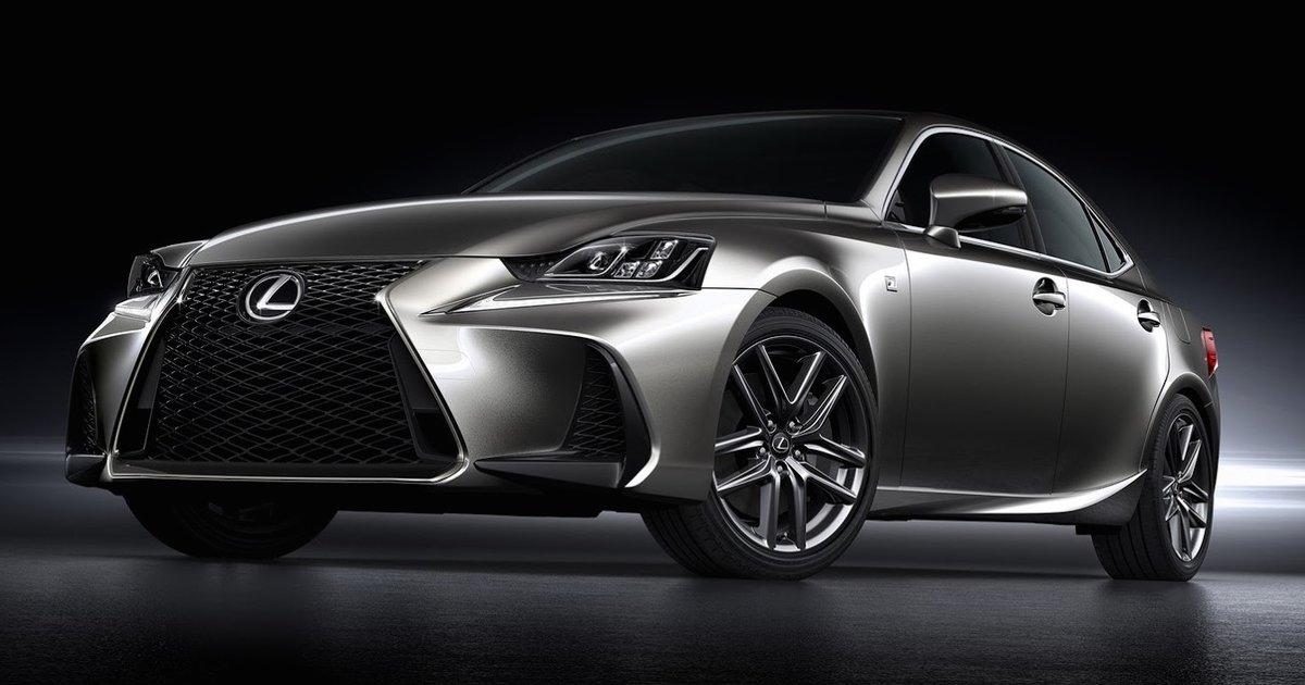 2017 Lexus IS facelift unveiled  UPDATE