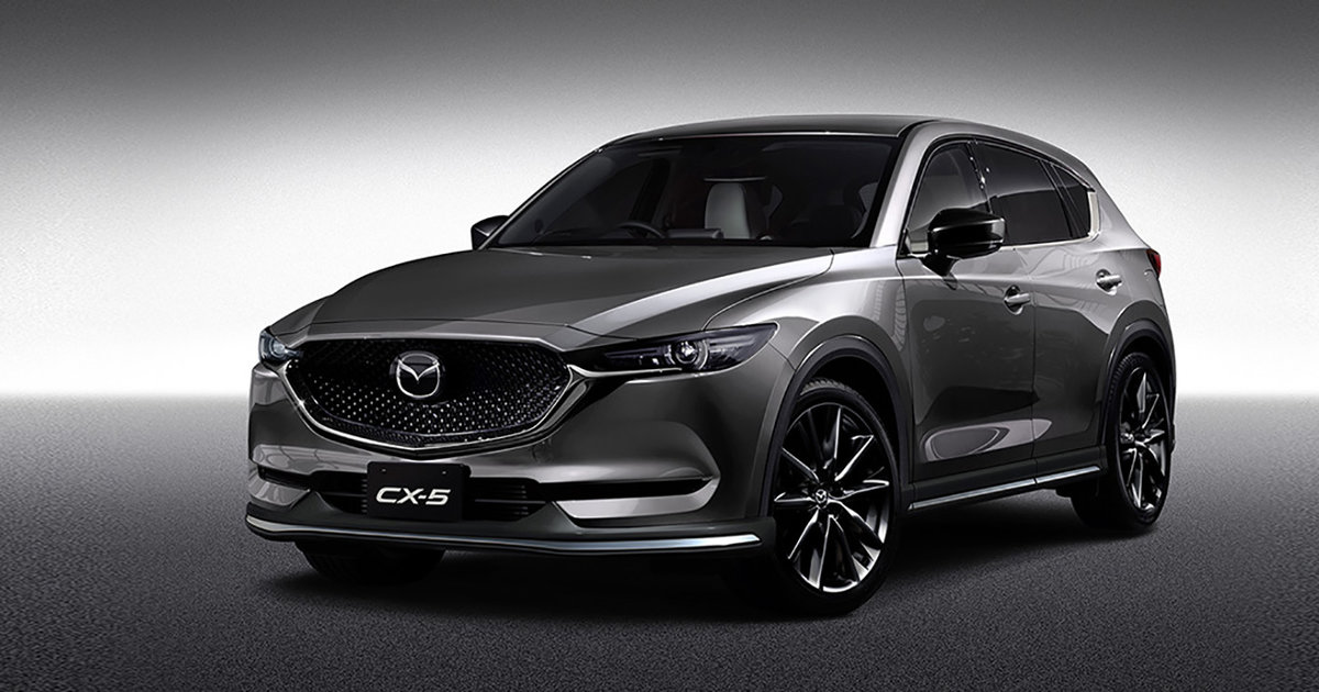 2017 Mazda Cx 5 And Cx 3 Sport Their Custom Style In Tokyo