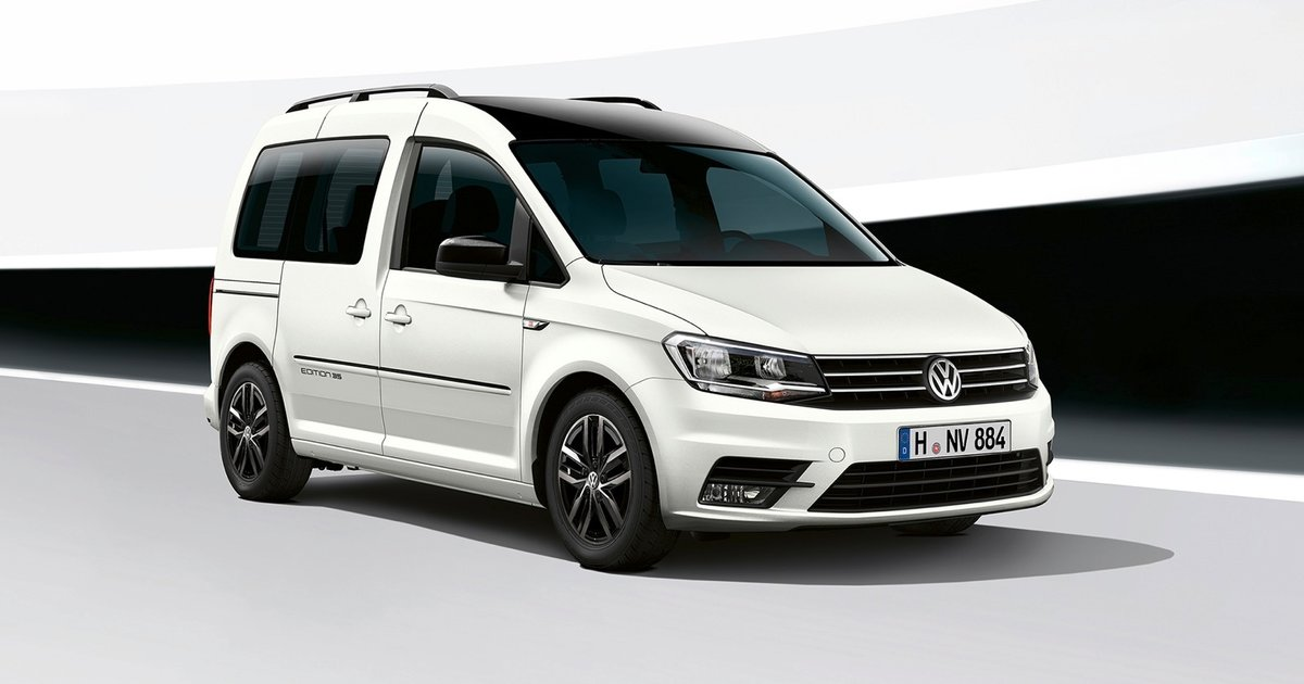 2017 volkswagen caddy edition 35 unveiled. Black Bedroom Furniture Sets. Home Design Ideas