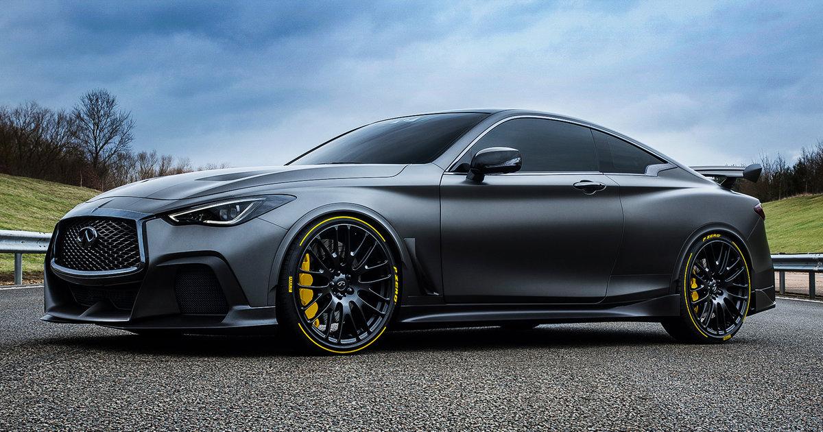 2018 infiniti q60 convertible. Brilliant 2018 Infiniti Q60 Project Black S Pirelli Deal Hints At Progress On Potential  M4 Rival With 2018 Infiniti Q60 Convertible 9
