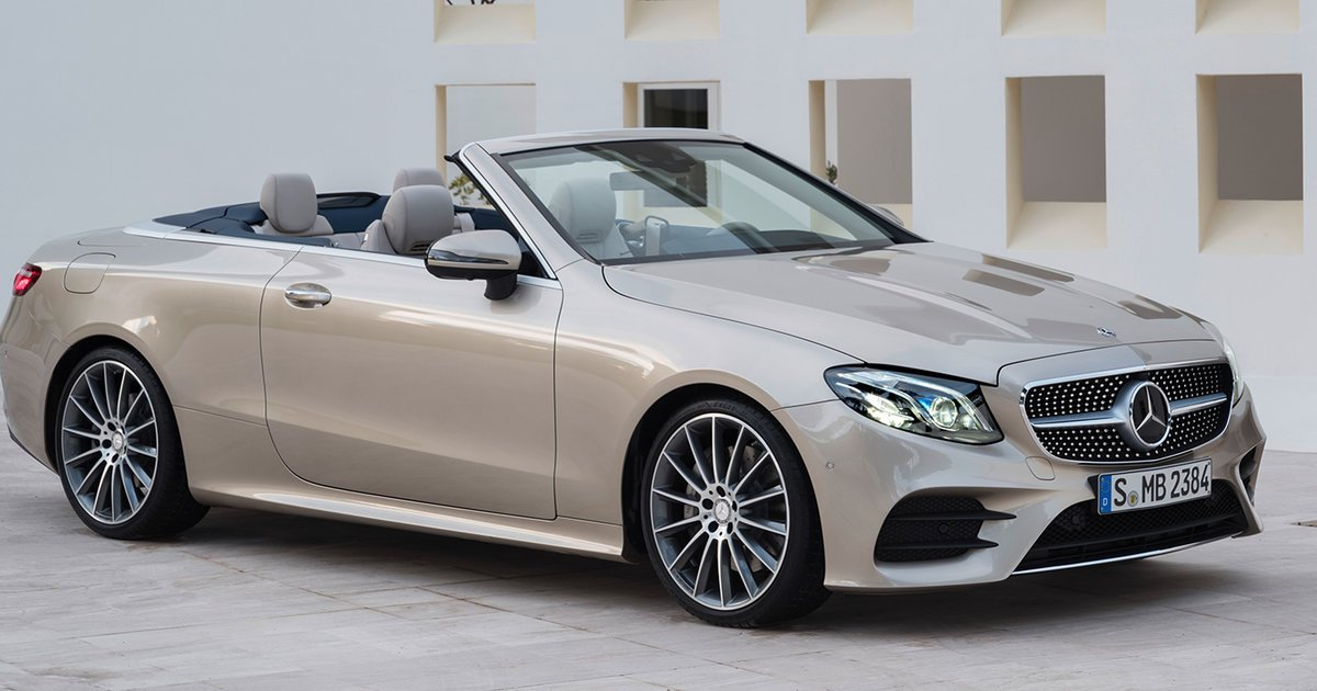 2018 mercedes benz e class cabriolet local pricing announced. Black Bedroom Furniture Sets. Home Design Ideas