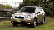 2015 Subaru Forester Review : 2.0D-L diesel CVT