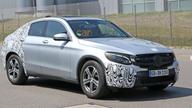 Mercedes-Benz GLC Coupe spy photos