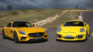 Mercedes-AMG GT S v Porsche 911 GT3 : Comparison Review