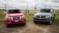 Nissan Navara ST-X v Volkswagen Amarok Highline TDI420: Dual-Cab Comparison Review