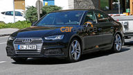 2016 Audi S4 sedan spied without camouflage, Frankfurt debut expected