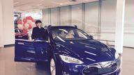 Tesla Model X Founder Series won by Sydney mum