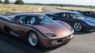 Koenigsegg revisits its original 1996 prototype vehicle