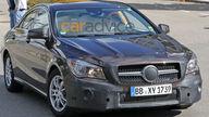2016 Mercedes-Benz CLA facelift spy photos