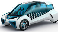 Toyota FCV Plus fuel cell concept revealed
