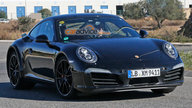 2018 Porsche 911 development mule spy photos