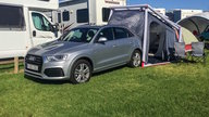 Queensland road trip and camping adventure: Audi Q3 2.0 TDI quattro Sport and tent