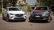 Mazda CX-3 Akari v Fiat 500X Pop Star: Comparison review