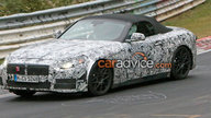 BMW Z4 successor spied at the Nurburgring, cabin glimpsed