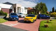 Honda HR-V VTi-L v Mazda CX-3 Akari v Mitsubishi ASX XLS v Toyota C-HR Koba comparison