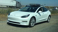 2018 Tesla Model 3 spied and specifications leaked
