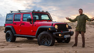 Hitting the beach in the 2017 Jeep Wrangler Unlimited Rubicon