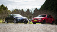 Alfa Romeo Old v New: 2017 Giulia v 1990 75 Twin Spark