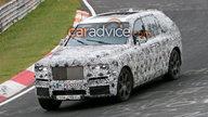 2019 Rolls-Royce Project Cullinan SUV spied