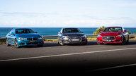 Audi S5 v BMW 440i v Infiniti Q60 Red Sport comparison