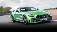 2017 Mercedes-AMG GT R track review