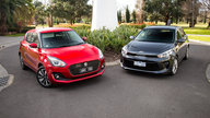 Suzuki Swift GLX Turbo v Kia Rio SLi comparison