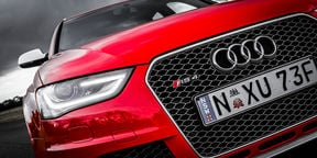 Audi RS4 Avant Track Test Review