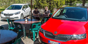 The Big Small Car Challenge - Skoda Rapid v Kia Cerato