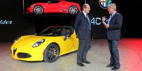 Alfa Romeo 4C Design Interview : NAIAS Detroit Motor Show 2015