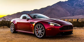 Aston Martin V12 Vantage S Roadster review : Palm Springs, USA
