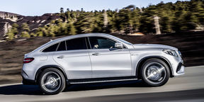 Mercedes-Benz GLE Coupe First Look : NAIAS Detroit Motor Show 2015