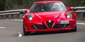 Alfa Romeo 4C Coupe review