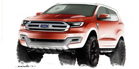 2015 Ford Everest - interview with Ford Design Manager