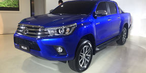 2016 Toyota Hilux Reveal : Walkaround