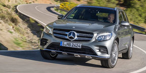 2016 Mercedes-Benz GLC Review : International Launch