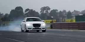 2016 Chrysler 300 SRT Review —With launch control demonstration