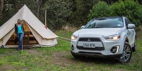 2015 Mitsubishi ASX XLS Review : Glamping Weekender