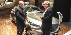 Hyundai Vision G Concept Design Interview : 2015 Frankfurt Motor Show