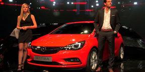 2016 Opel / Holden Astra Walkaround : 2015 Frankfurt Motor Show