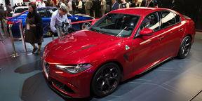 2016 Alfa Romeo Giulia Walkaround : 2015 Frankfurt Motor Show