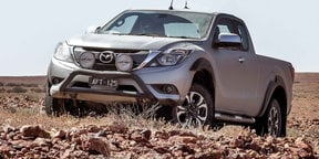 2016 Mazda BT-50 Review :: Coober Pedy Off-Road Adventure