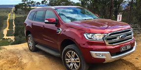 2015 Ford Everest Trend Review : on and off road