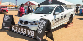 2016 Holden VFII Ute reveal at Deni Ute Muster